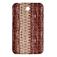 Wrinkly Batik Pattern Brown Beige Samsung Galaxy Tab 3 (7 ) P3200 Hardshell Case  by EDDArt