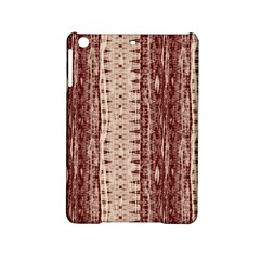 Wrinkly Batik Pattern Brown Beige Ipad Mini 2 Hardshell Cases by EDDArt