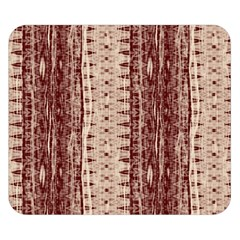 Wrinkly Batik Pattern Brown Beige Double Sided Flano Blanket (small)  by EDDArt