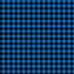 Lumberjack Fabric Pattern Blue Black Canvas 12  X 12   by EDDArt