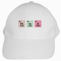 Think   Chemistry White Cap by Valentinaart