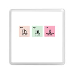 Think   Chemistry Memory Card Reader (square)  by Valentinaart