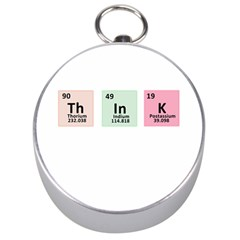 Think   Chemistry Silver Compasses by Valentinaart