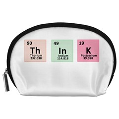 Think   Chemistry Accessory Pouches (large)  by Valentinaart