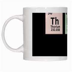 Think   Chemistry White Mugs by Valentinaart