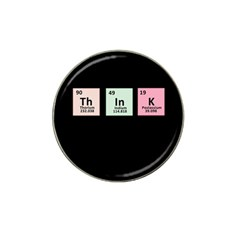 Think   Chemistry Hat Clip Ball Marker (4 Pack) by Valentinaart