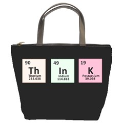 Think   Chemistry Bucket Bags by Valentinaart