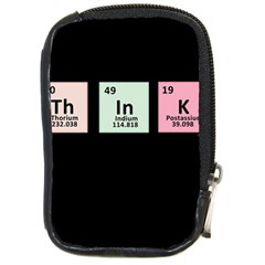 Think   Chemistry Compact Camera Cases by Valentinaart