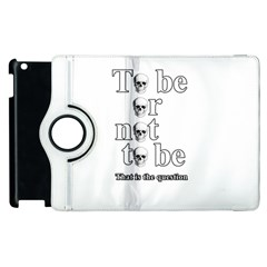 To Be Or Not To Be Apple Ipad 2 Flip 360 Case
