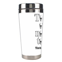 To Be Or Not To Be Stainless Steel Travel Tumblers by Valentinaart