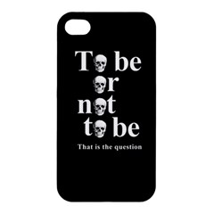 To Be Or Not To Be Apple Iphone 4/4s Hardshell Case by Valentinaart