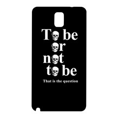 To Be Or Not To Be Samsung Galaxy Note 3 N9005 Hardshell Back Case
