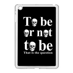 To Be Or Not To Be Apple Ipad Mini Case (white) by Valentinaart