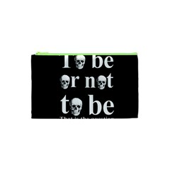 To Be Or Not To Be Cosmetic Bag (xs)