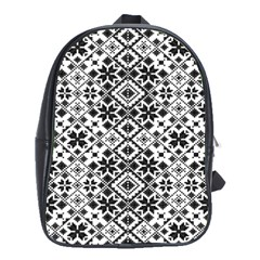 Pattern School Bags(large)  by Valentinaart