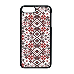 Pattern Apple Iphone 7 Plus Seamless Case (black) by Valentinaart