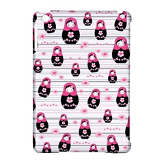 Matryoshka Doll Pattern Apple Ipad Mini Hardshell Case (compatible With Smart Cover) by Valentinaart