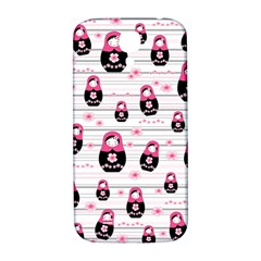Matryoshka Doll Pattern Samsung Galaxy S4 I9500/i9505  Hardshell Back Case