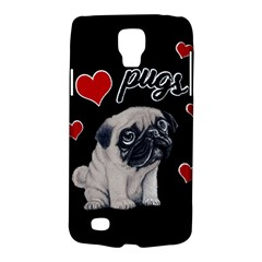 Love Pugs Galaxy S4 Active by Valentinaart