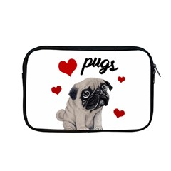 Love Pugs Apple Macbook Pro 13  Zipper Case