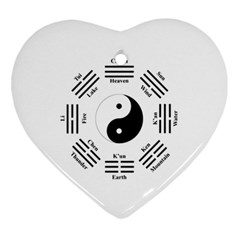 I Ching  Ornament (heart) by Valentinaart