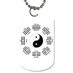 I Ching  Dog Tag (one Side) by Valentinaart