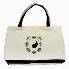 I Ching  Basic Tote Bag by Valentinaart