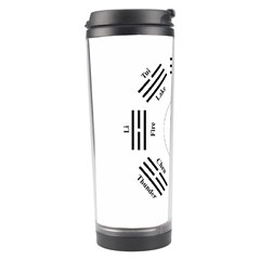 I Ching  Travel Tumbler by Valentinaart