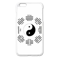 I Ching  Apple Iphone 6 Plus/6s Plus Enamel White Case by Valentinaart