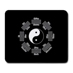 I Ching  Large Mousepads by Valentinaart