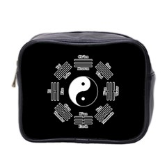 I Ching  Mini Toiletries Bag 2 Side