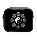 I ching  Mini Toiletries Bag 2-Side Back