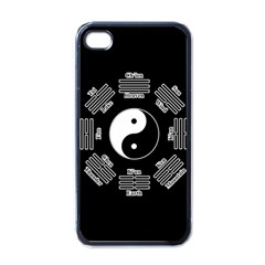 I Ching  Apple Iphone 4 Case (black) by Valentinaart