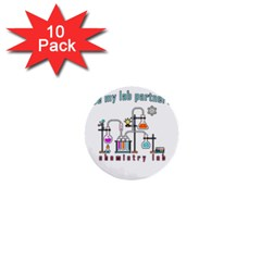 Chemistry Lab 1  Mini Buttons (10 Pack)  by Valentinaart