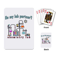 Chemistry Lab Playing Card by Valentinaart