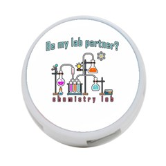 Chemistry Lab 4 Port Usb Hub (one Side) by Valentinaart