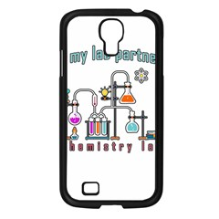 Chemistry Lab Samsung Galaxy S4 I9500/ I9505 Case (black) by Valentinaart