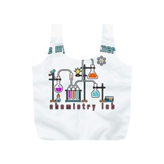 Chemistry Lab Full Print Recycle Bags (s)  by Valentinaart