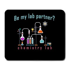 Chemistry Lab Large Mousepads by Valentinaart