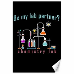 Chemistry Lab Canvas 24  X 36  by Valentinaart