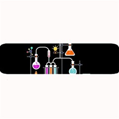 Chemistry Lab Large Bar Mats by Valentinaart