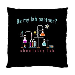 Chemistry Lab Standard Cushion Case (two Sides) by Valentinaart