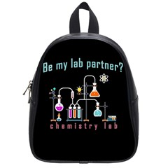 Chemistry Lab School Bags (small)  by Valentinaart