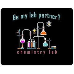 Chemistry Lab Fleece Blanket (medium)