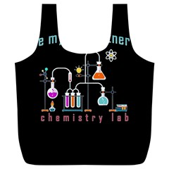 Chemistry Lab Full Print Recycle Bags (l)  by Valentinaart
