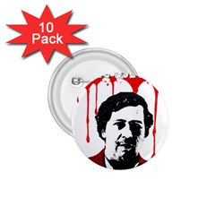 Pablo Escobar  1 75  Buttons (10 Pack) by Valentinaart