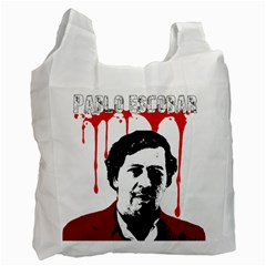 Pablo Escobar  Recycle Bag (one Side) by Valentinaart