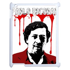Pablo Escobar  Apple Ipad 2 Case (white) by Valentinaart