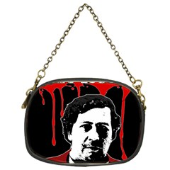 Pablo Escobar  Chain Purses (one Side)  by Valentinaart