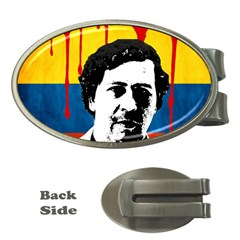 Pablo Escobar Money Clips (oval)  by Valentinaart